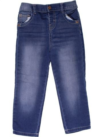 Jeans girl F&F blue 2 years summer #31475_1