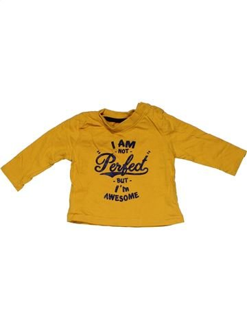 Long sleeve T-shirt boy PRIMARK yellow 3 months summer #31510_1