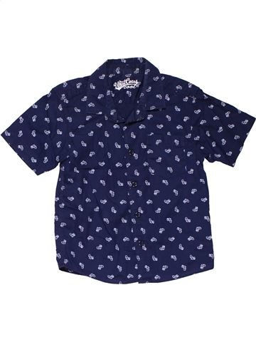 Short sleeve shirt boy WEST COAST blue 3 years summer #31511_1