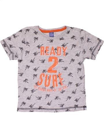 Short sleeve T-shirt unisex DOPODOPO pink 4 years summer #31526_1