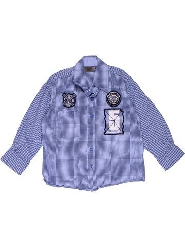 Long sleeve shirt boy GIANT STONE blue 4 years summer #31538_1