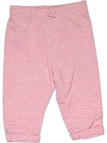 Trouser girl GEORGE pink 6 months summer #31569_1