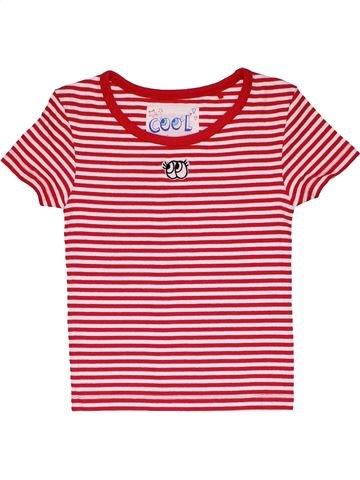 Short sleeve T-shirt girl TU pink 8 years summer #31571_1