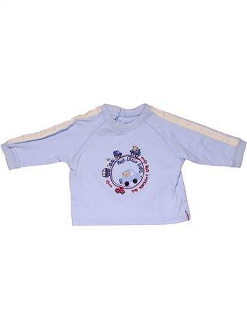 Long sleeve T-shirt boy NO BRAND blue 3 months summer #31580_1