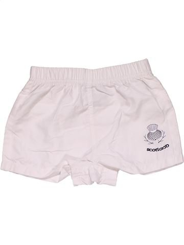 Short pants boy RUGBY NATIONS white 4 years summer #31728_1