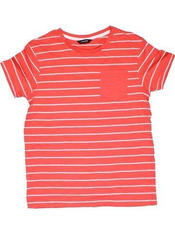 Short sleeve T-shirt boy GEORGE pink 10 years summer #31769_1