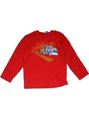 Long sleeve T-shirt boy H&M red 4 years winter #31781_1