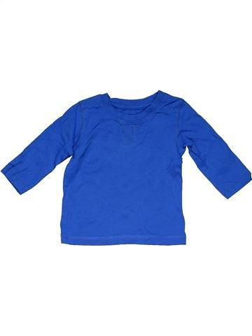 Long sleeve T-shirt boy NEXT blue 6 months winter #31824_1