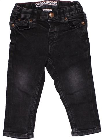 Jeans boy H&M black 12 months winter #31825_1