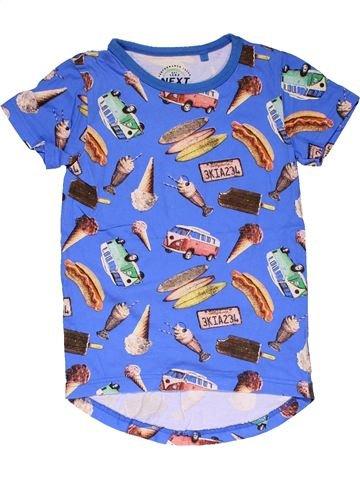 Short sleeve T-shirt boy NEXT purple 5 years summer #31832_1