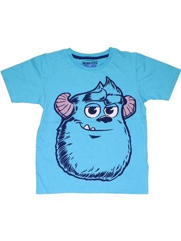 Short sleeve T-shirt boy MARKS & SPENCER blue 6 years summer #31837_1