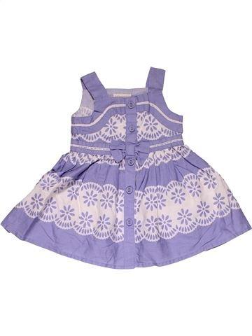 Dress girl MONSOON purple 3 months summer #31843_1