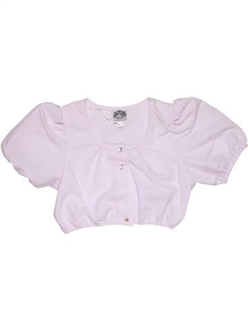 Short sleeve blouse girl NO BRAND pink 12 years summer #31911_1