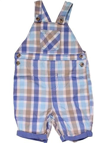 Short jumpsuit boy GEORGE blue 2 years summer #31968_1