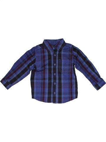 Long sleeve shirt boy MINICLUB blue 2 years winter #31977_1