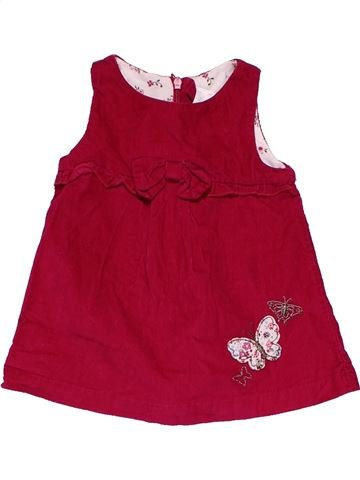 Dress girl BABY CLUB red 3 months summer #32039_1