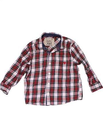 Long sleeve shirt boy NEXT purple 3 years winter #32042_1