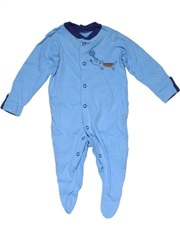 Long jumpsuit boy TU blue 3 months winter #32061_1