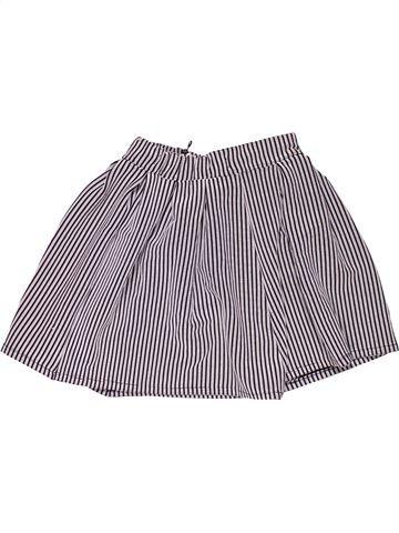 Skirt girl MARKS & SPENCER gray 11 years summer #32180_1
