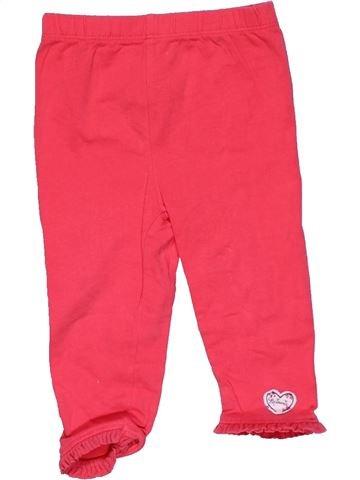 Leggings girl GEORGE red 9 months winter #32187_1