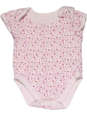 Short jumpsuit girl GEORGE white 9 months summer #32203_1