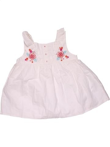 Dress girl MOTHERCARE white 5 years summer #32295_1