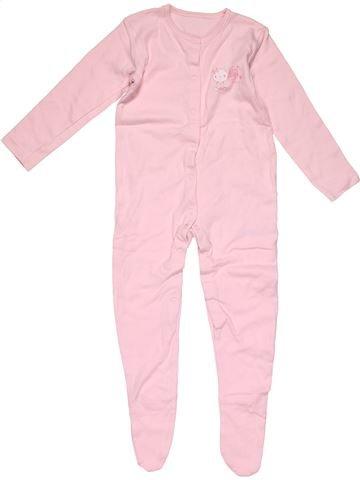 Long jumpsuit girl GEORGE pink 2 years winter #32307_1