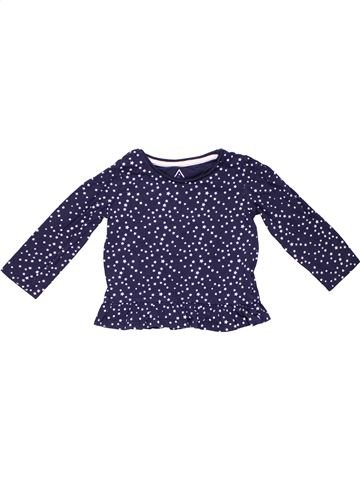 Long sleeve T-shirt girl YOUNG DIMENSION blue 2 years winter #3347_1