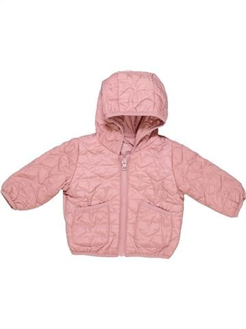 Parka girl M&S pink 6 months winter #3508_1