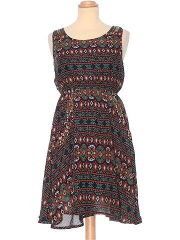 Evening Dress woman APRICOT UK 8 (S) summer #361_1