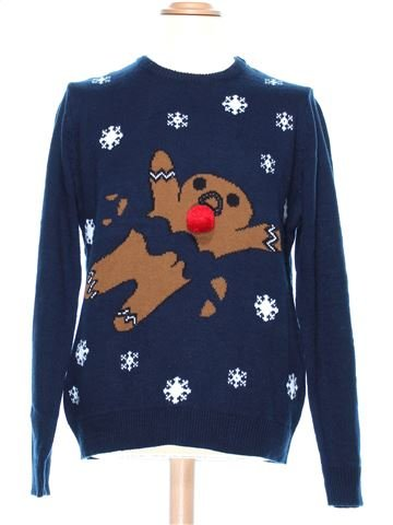 Man Xmas jumper man CEDAR WOOD STATE XL winter #36960_1