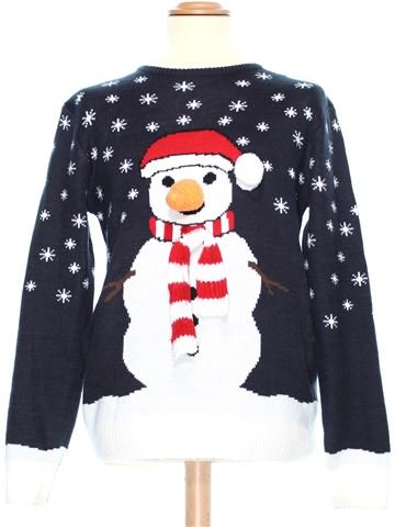 Man Xmas jumper man CEDAR WOOD STATE M winter #38058_1