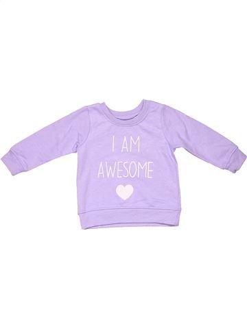 Long sleeve blouse girl PRIMARK purple 12 months winter #4003_1
