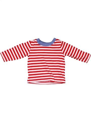 Long sleeve blouse unisex GEORGE red 3 months winter #4108_1