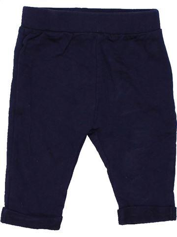 Trouser unisex PEP&CO black 3 months summer #424_1