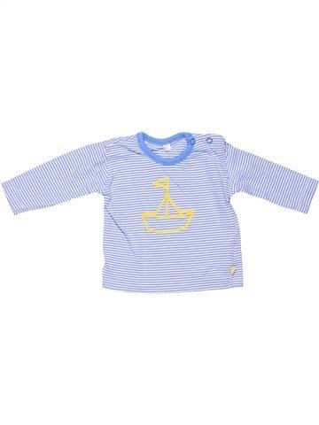 Long sleeve blouse unisex NO BRAND blue 3 months winter #4506_1
