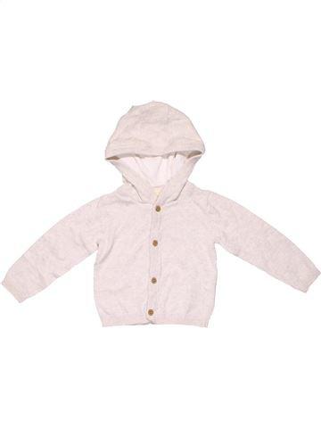 Long sleeve blouse unisex LUPILU white 6 months winter #4561_1