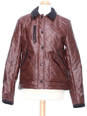 Synthetic Leather Jacket woman RIVER ISLAND UK 12 (M) winter #48542_1
