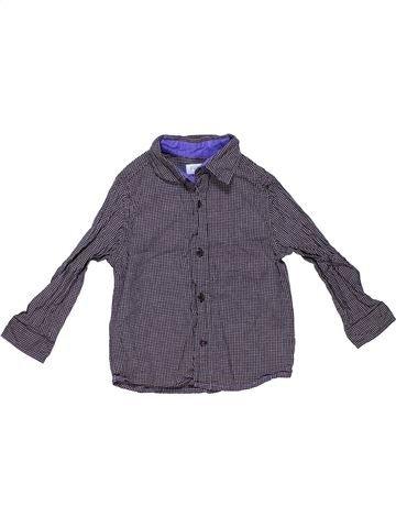 Long sleeve shirt boy F&F blue 4 years summer #5111_1