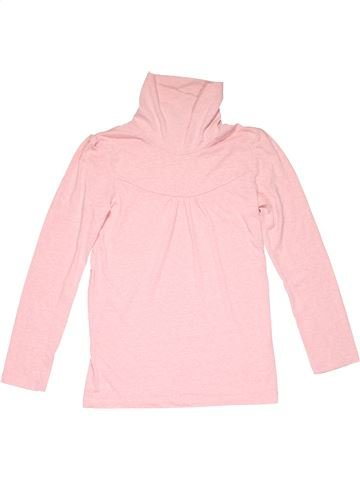 Turtleneck T-shirt girl NEXT pink 10 years winter #5950_1