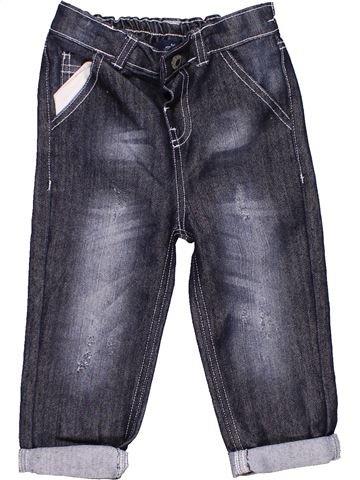 Jeans unisex MINI REBEL gray 12 months winter #6114_1
