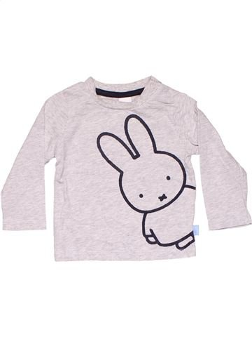 Long sleeve T-shirt unisex C&A white 6 months winter #6147_1