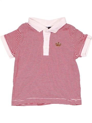 Short sleeve polo shirt boy NEXT pink 6 months summer #6657_1