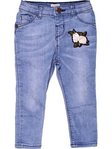 Jeans girl RIVER ISLAND blue 2 years summer #6742_1