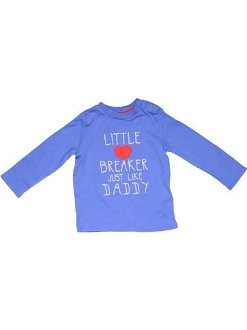 Long sleeve T-shirt boy F&F purple 6 months winter #7029_1