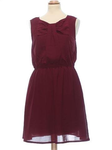 Dress woman APRICOT UK 12 (M) summer #7470_1