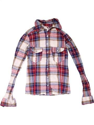 Long sleeve shirt boy NEW LOOK purple 9 years winter #7570_1