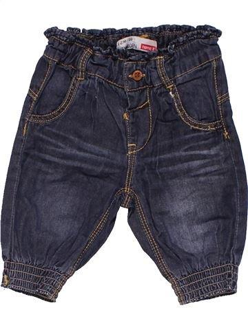 Trouser boy NEWBORN blue 3 months winter #7640_1