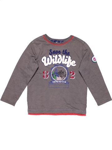 Long sleeve T-shirt boy S OLIVER purple 5 years winter #7770_1