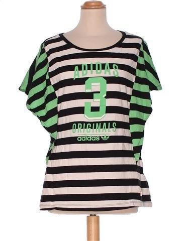 Short Sleeve Top woman ADIDAS UK 14 (L) summer #778_1